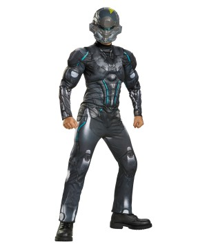 Halo Spartan Locke Muscle Boys Costume
