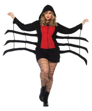 Spider Widow plus size Women Costume