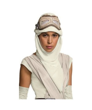 Star Wars Rey Eye Mask With Hood Adult