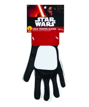 Star Wars Stormtrooper Boys Gloves