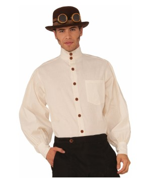 Steampunk Beige Shirt