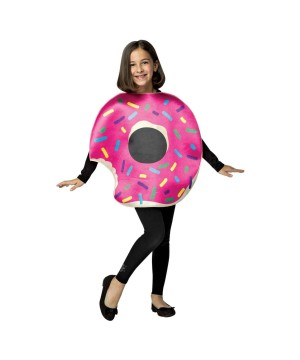 Strawberry Donut Girls Costume