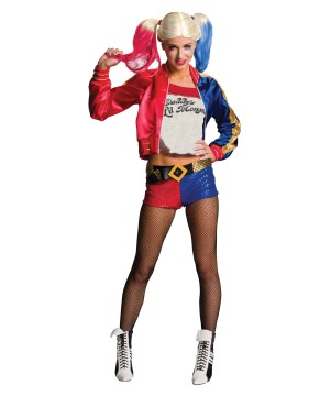 Suicide Squad Harley Quinn Women Costume
