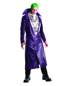 Suicide Squad Joker Costume and Wig Set