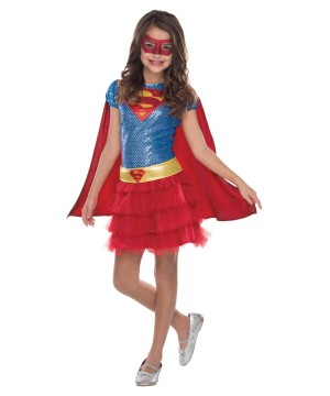 Supergirl Girls Tutu Dress