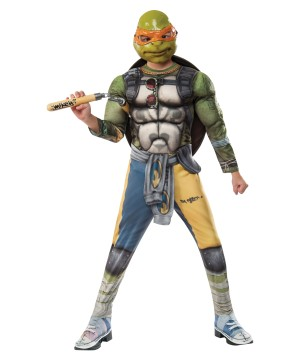 Teenage Mutant Ninja Turtles 2 Michelangelo Boys Costume