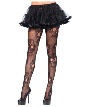 Skull Crossbone Tights