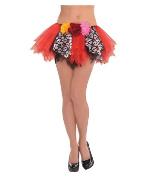 Day of the Dead Woman Tutu