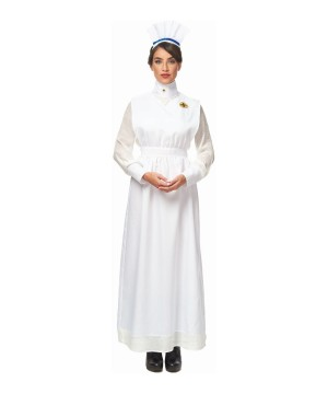 Vintage Nurse Women Costume