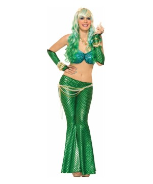 Walking Mermaid Woman Costume Kit