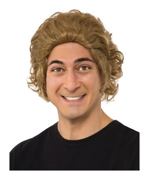 Willy Wonka Men Costume Wig