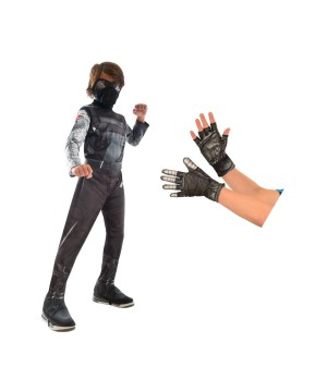 Civil War Winter Soldier Boys Costume Kit