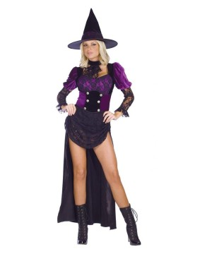 Witch Burlesque Women Costume