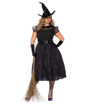 Witch Darling Spellcaster plus size Women Costume