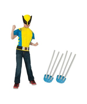 Wolverine Boys Costume Kit