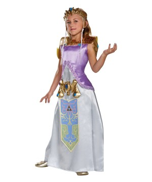 Zelda Girls Costume