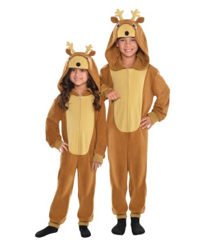 Zipster Reindeer Child Costume