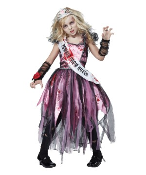 Zombie Prom Girls Costume