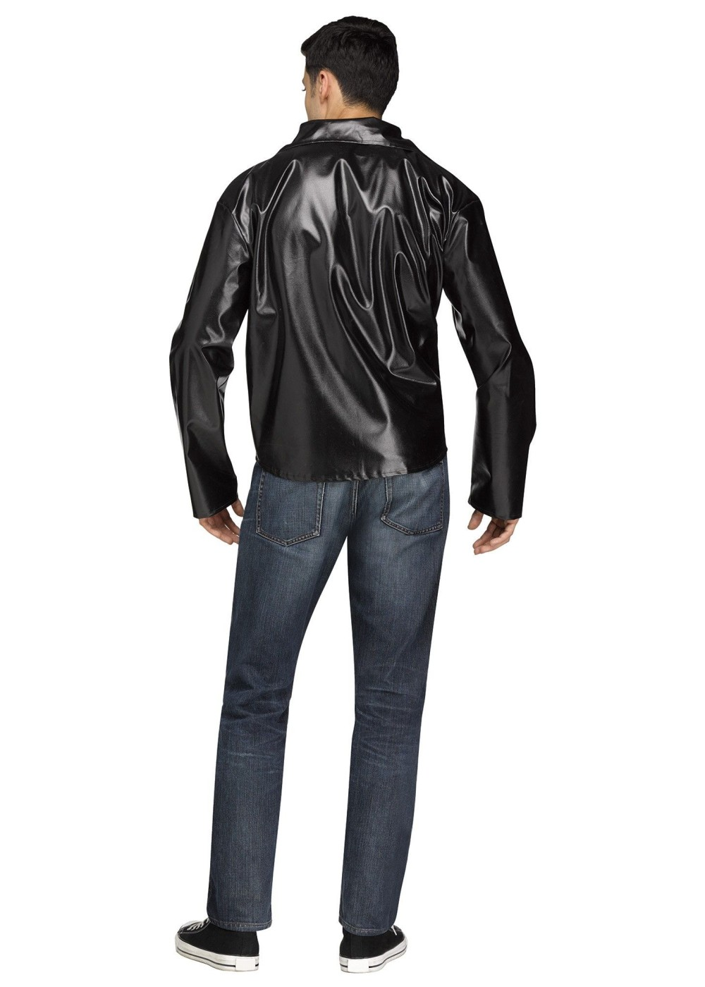 50s Biker Jacket Men Costume 1950s Costumes