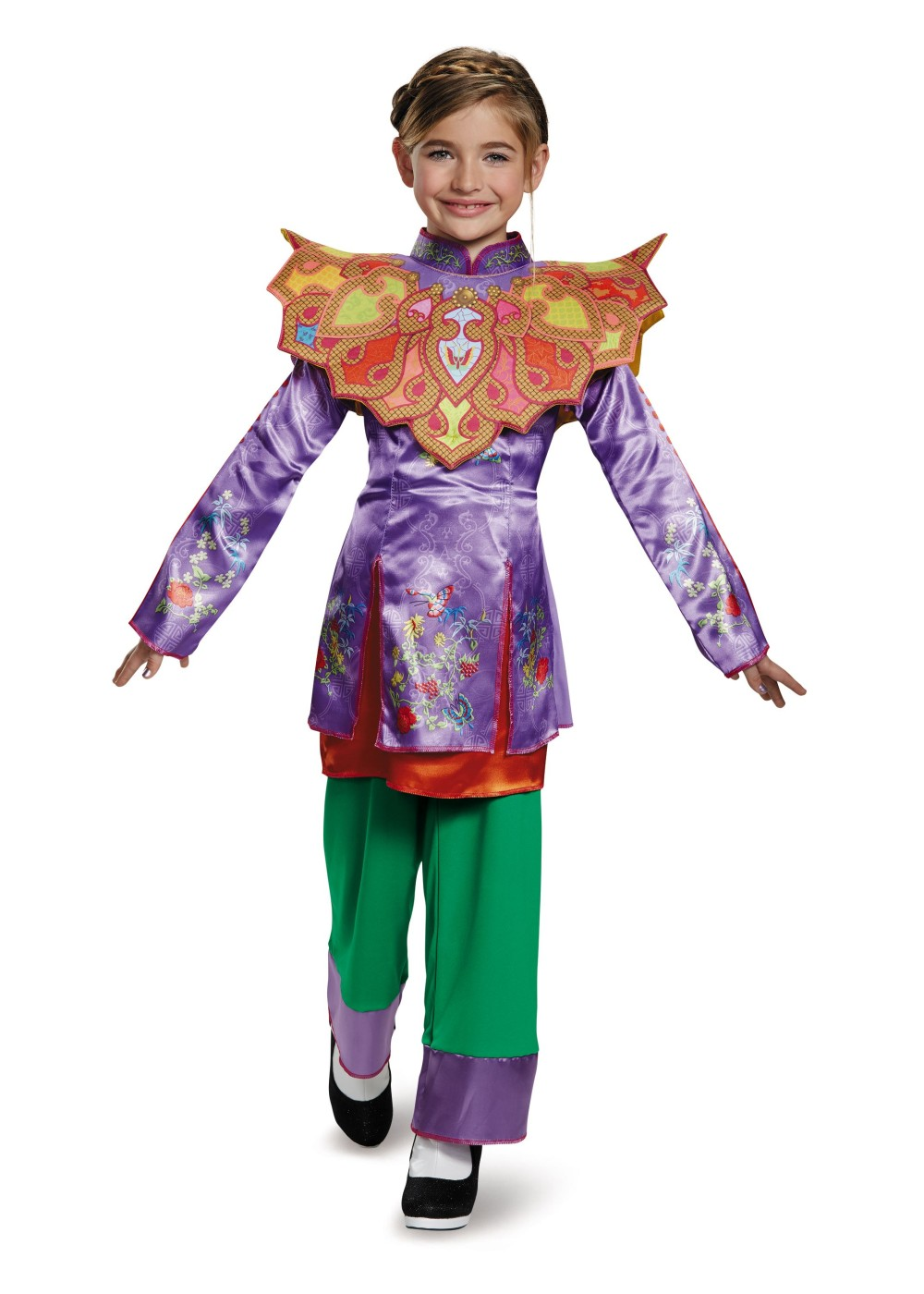 Kids Alice Asian Look Alice Through The Looking Glass Girl Costume