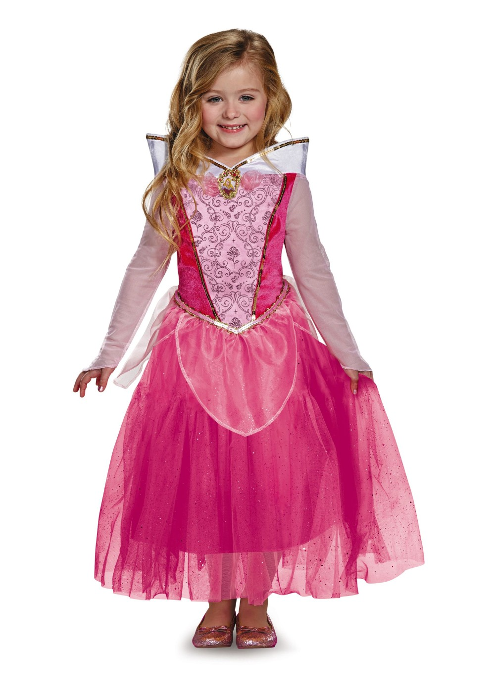 Kids Aurora Disney Girls Costume Deluxe