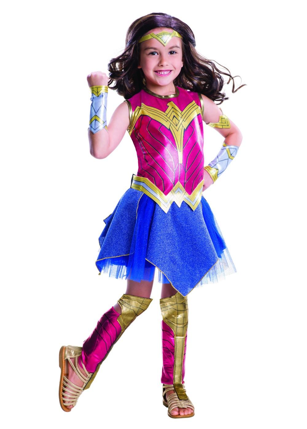 Wonder woman costume leggings-7371
