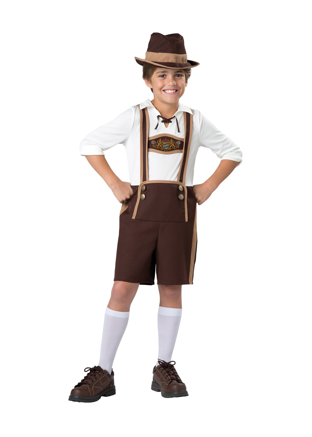 Bavarian Guy Boys Costume International Costumes