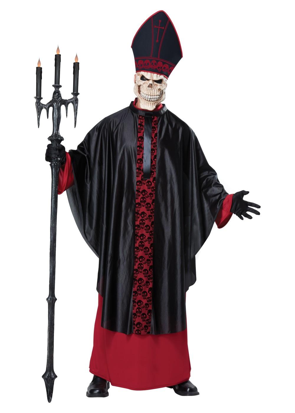Black Mass Men Costume Scary Costumes