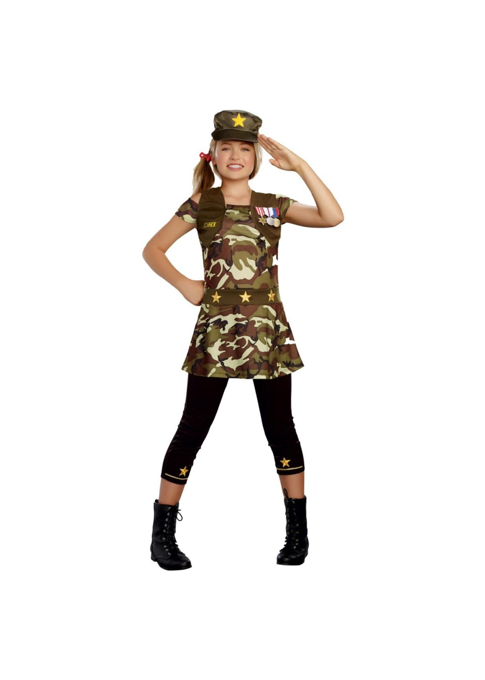 Ranger For Sale >> Cadet Cutie Tween Costume - Professional Costumes