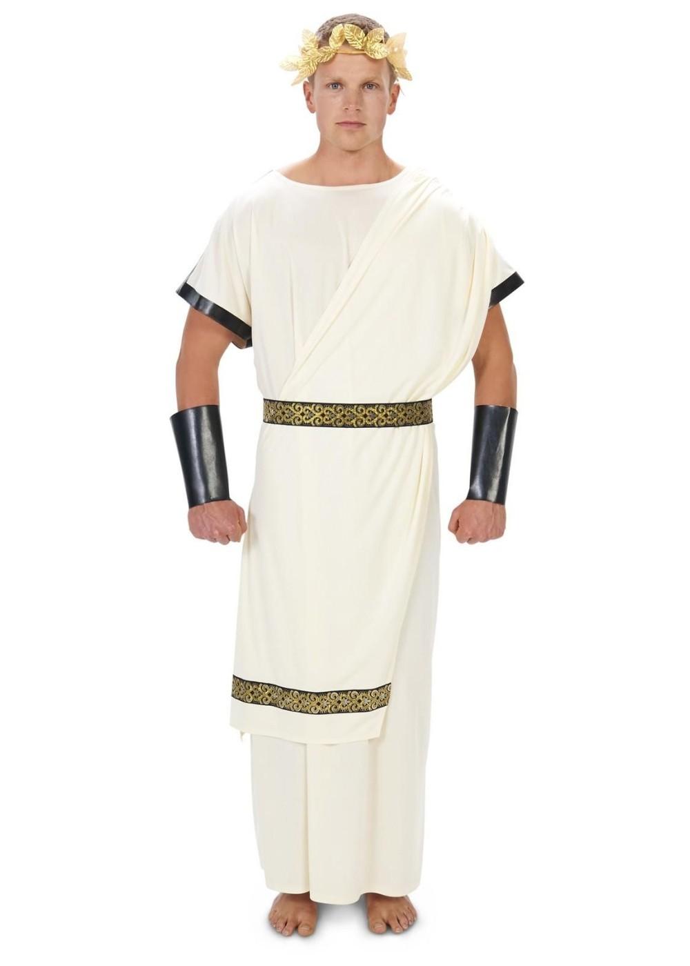 Caesar Toga Men Costume Roman Costumes