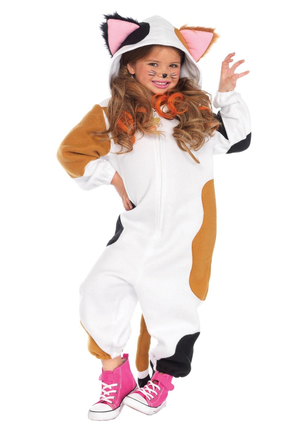 Calico Kigurumi Girls Costume Animal Costumes