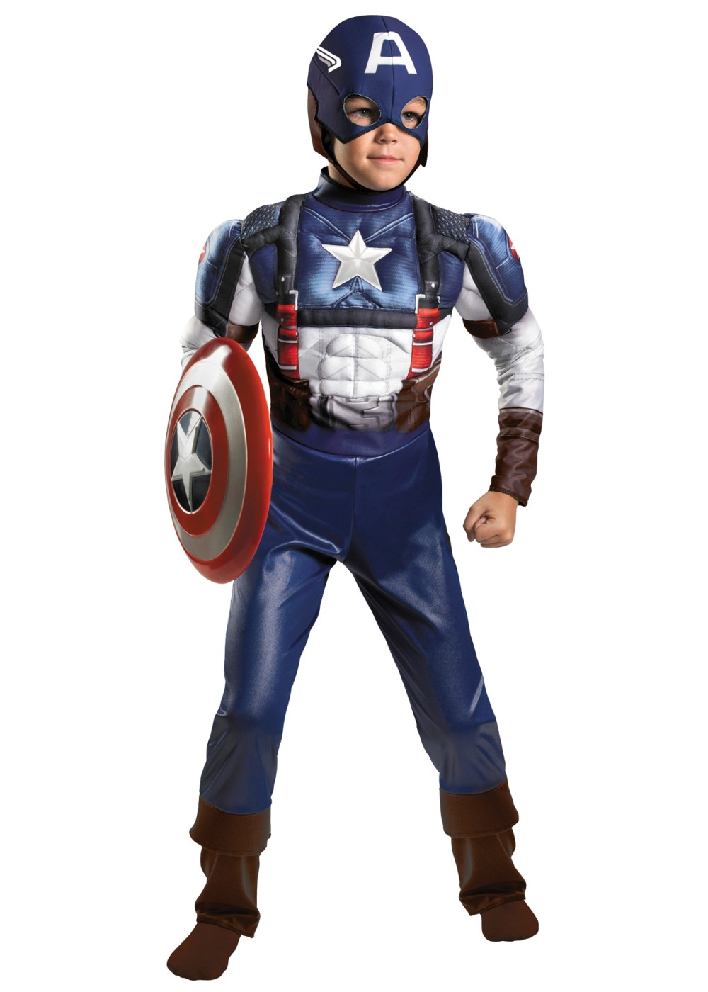 Captain America Avengers Boys Costume Superhero Costumes