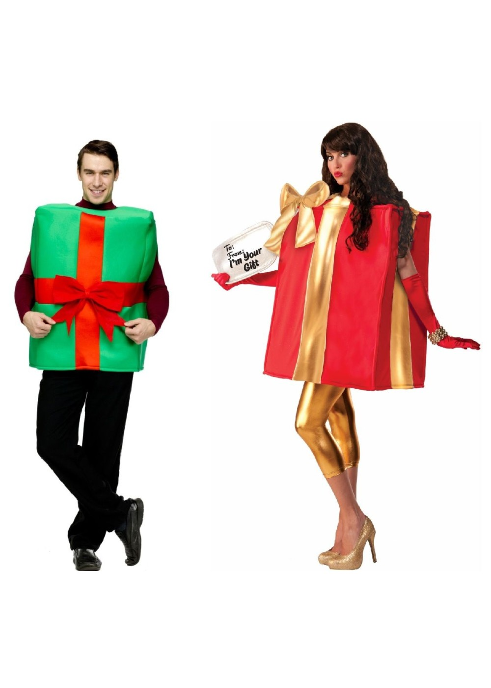 Christmas Gifts Couples Costumes  sc 1 st  Wonder Costumes & Christmas Gifts Couples Costumes - Holiday Costumes