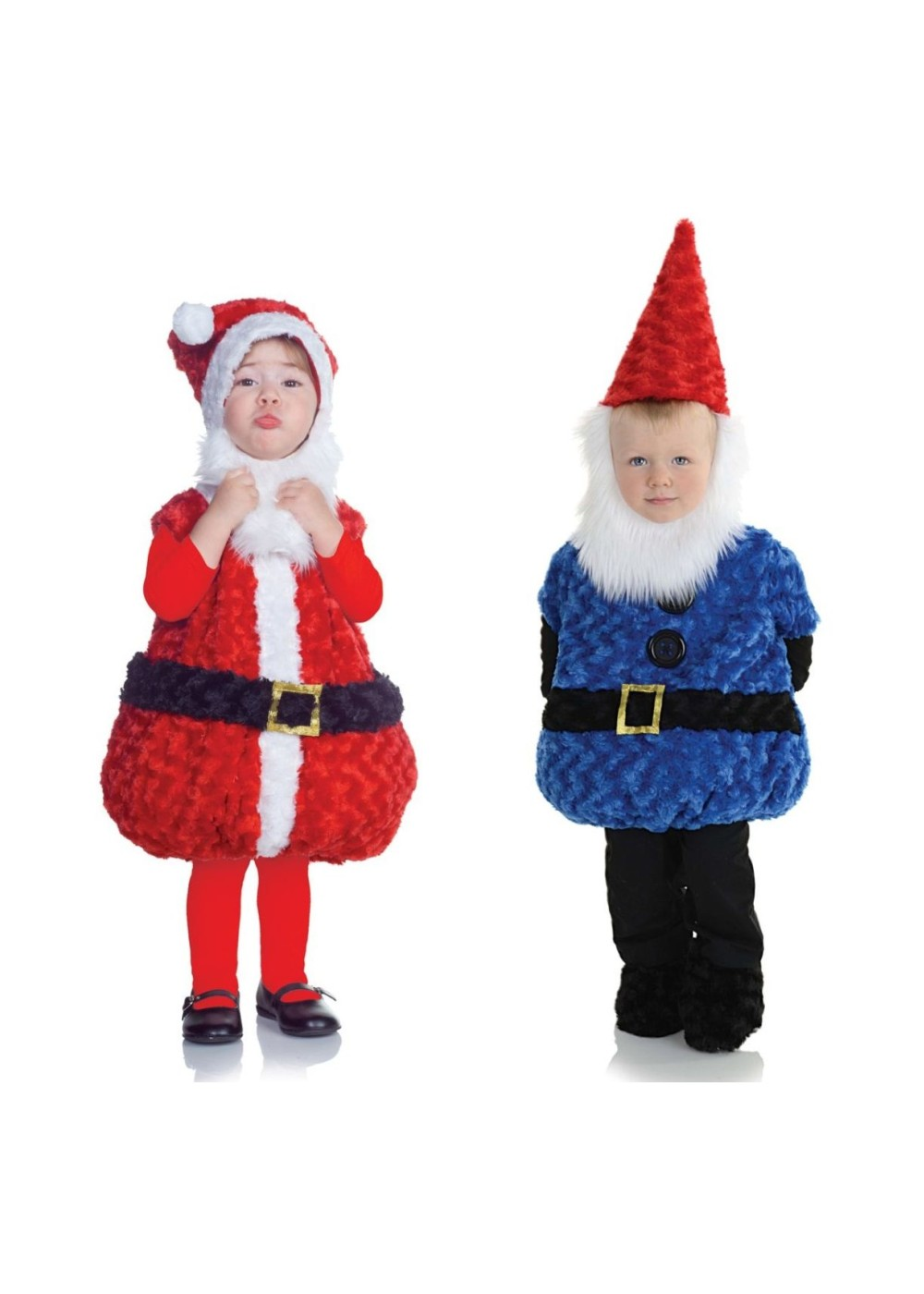Christmas Gnome.Christmas Gnome And Santa Claus Toddler Boys Costumes Christmas Costumes
