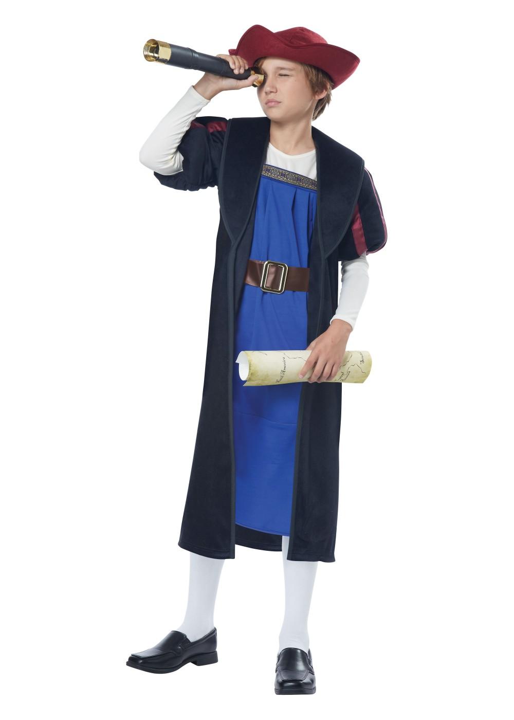 christopher columbus boy costume historical costumes