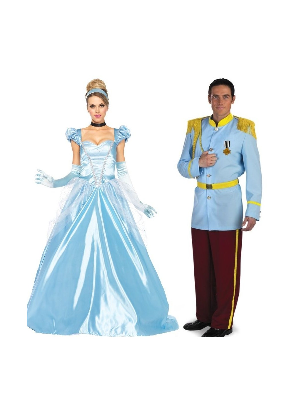 Cinderella And Prince Charming Couple Costume Kit Couples Costume