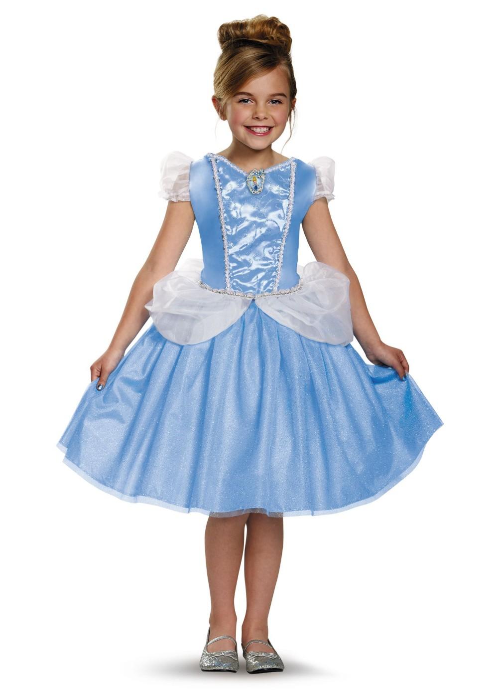 Girls Cheerleader Halloween Costume