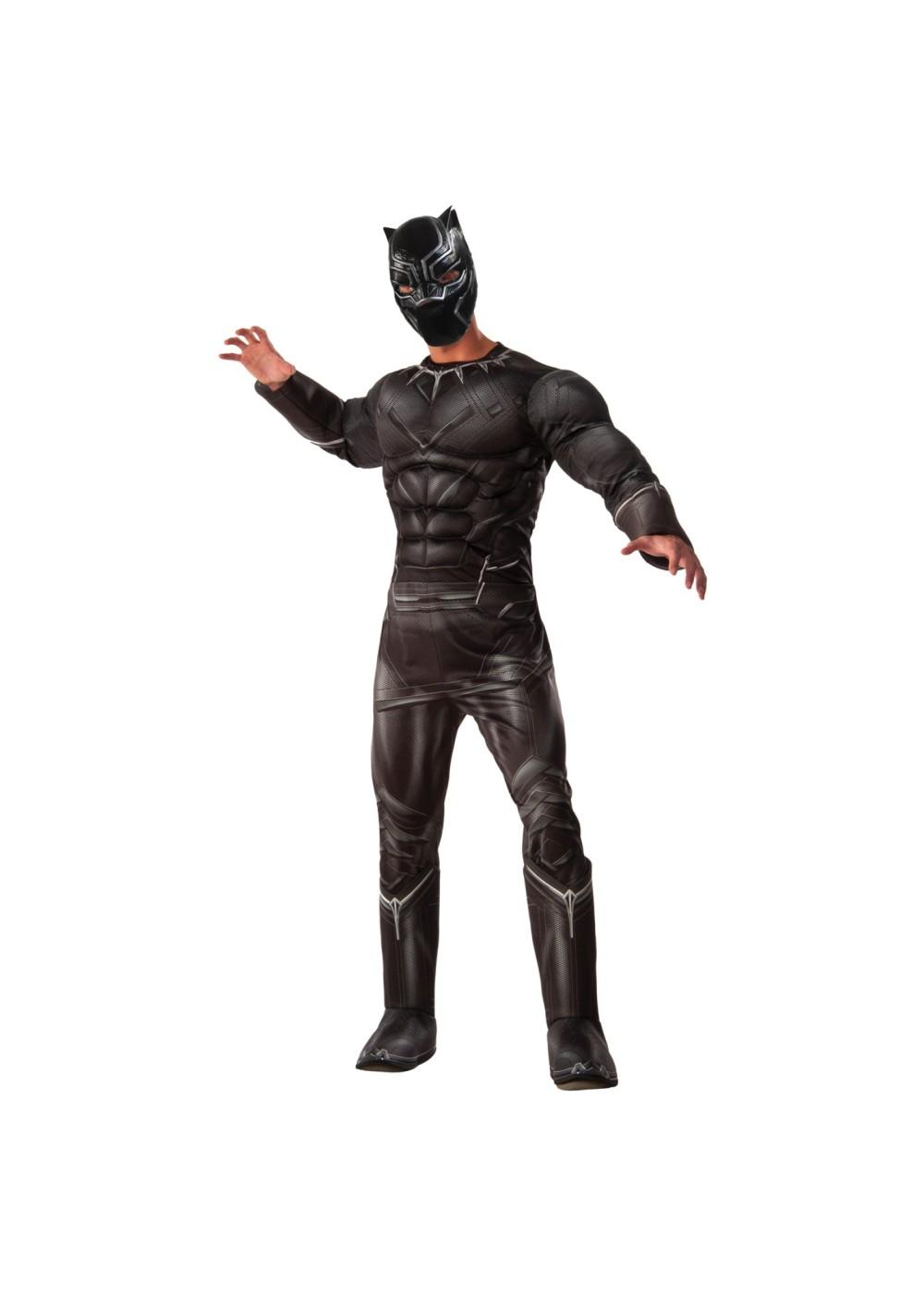 Black Panther Adult Mask - SuperheroDen.com