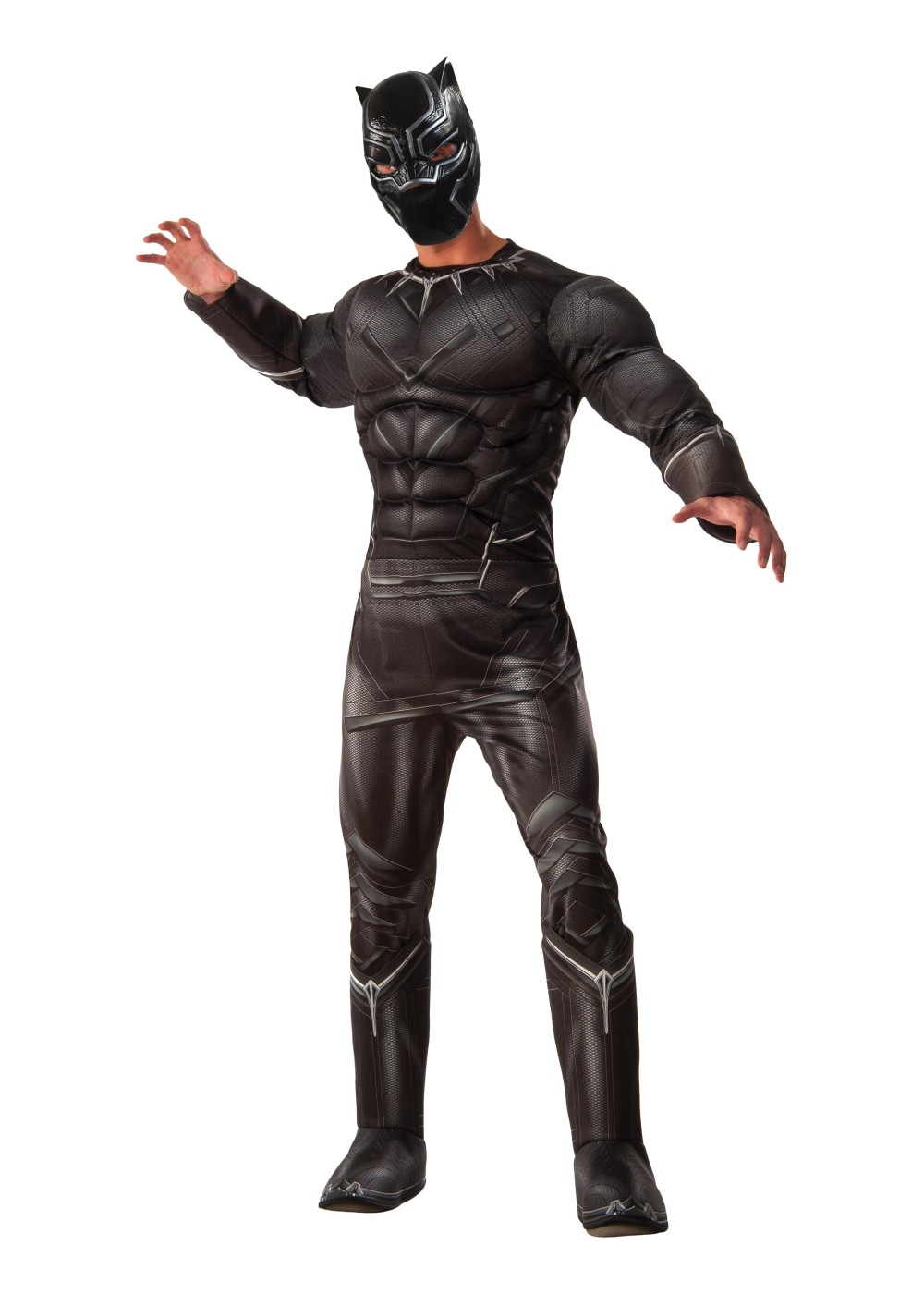 Civil War Black Panther Men Costume Superhero Costumes