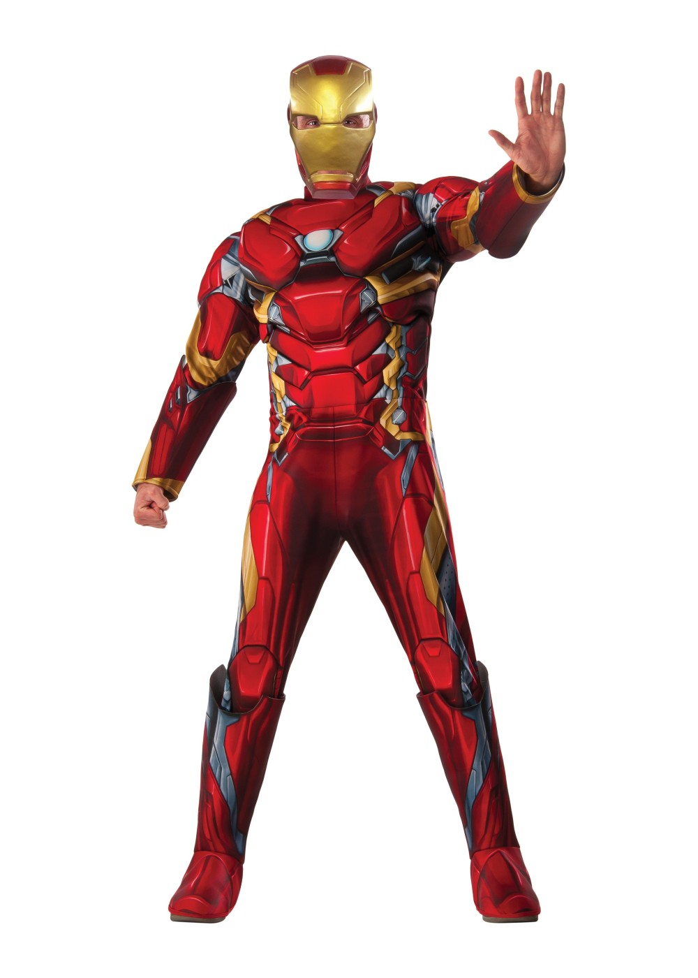 civil war deluxe iron man men costum tony stark