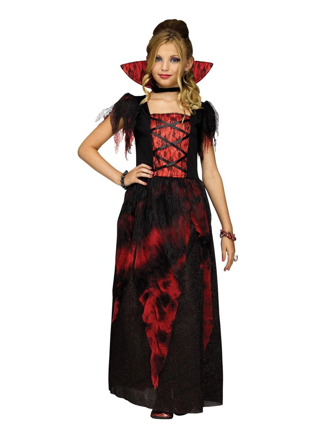girls countessa costume - vampire costumes
