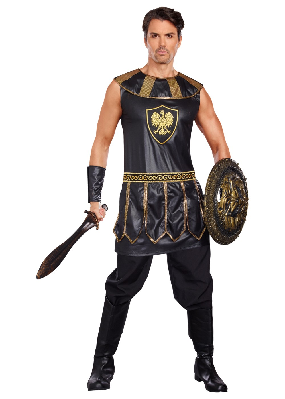 Deadly Warrior Men Costume  sc 1 st  Wonder Costumes & Roman Costumes - Girls Boys Men u0026 Women Classic Roman Dress