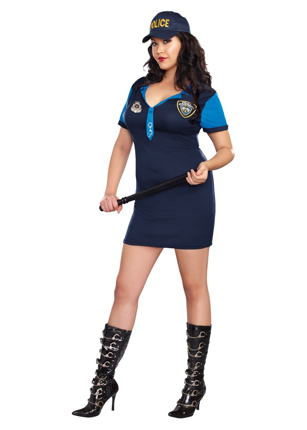 Dirty Detective Plus Size Women Costume