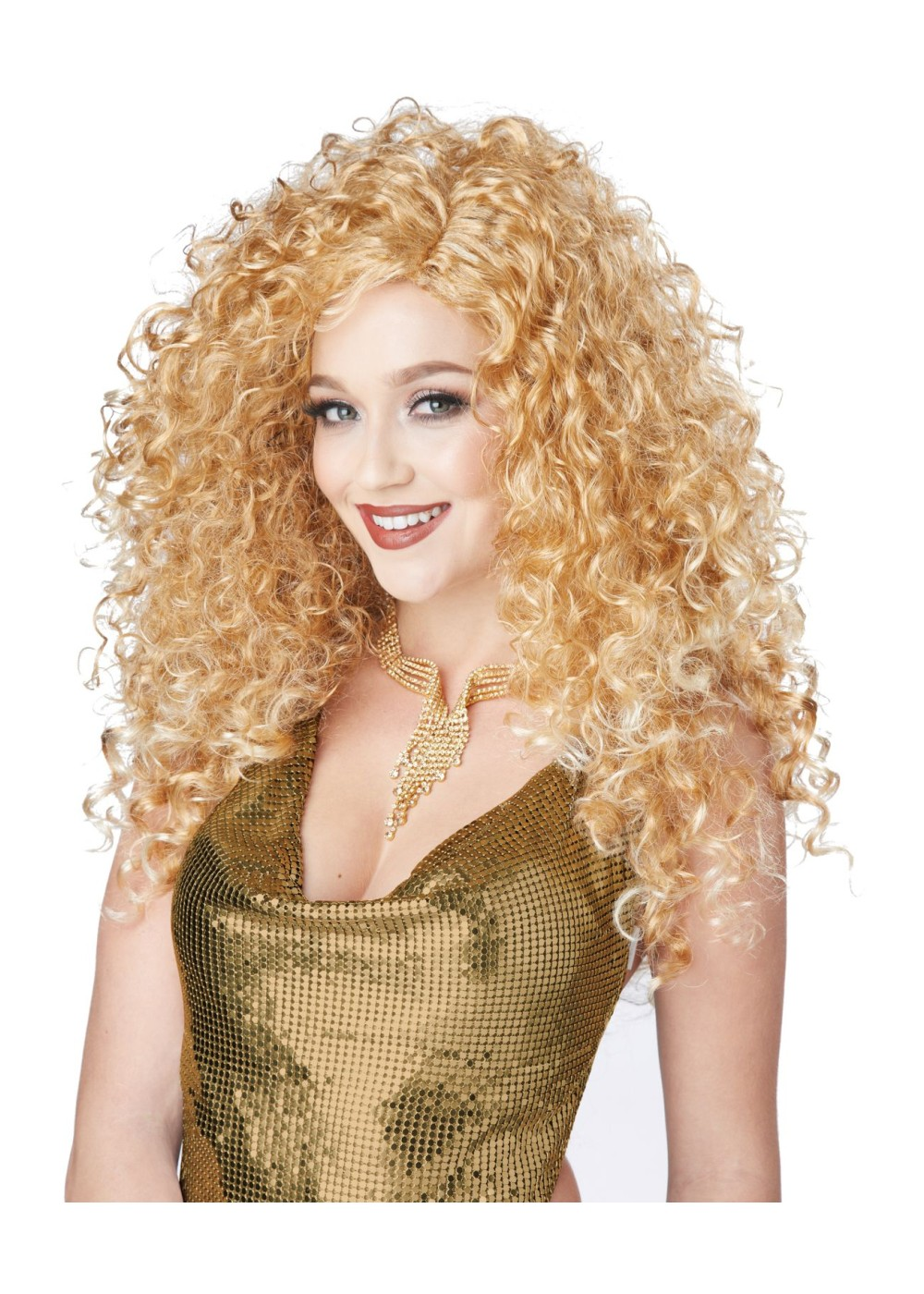 Disco Diva Blonde Wig Wigs