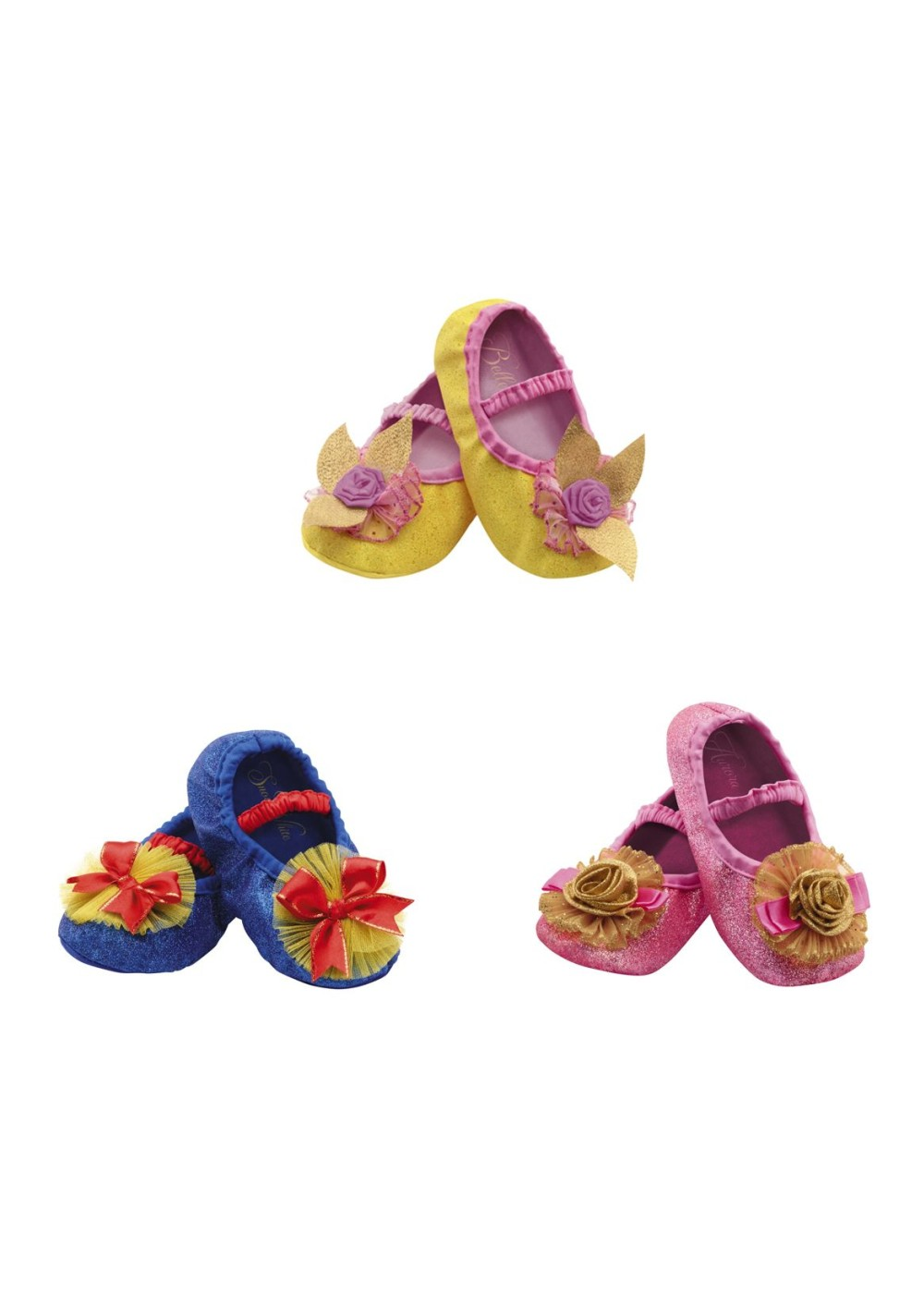 Aurora Toddler Slippers Disney Princess Shoes Halloween Child Costume Accessory