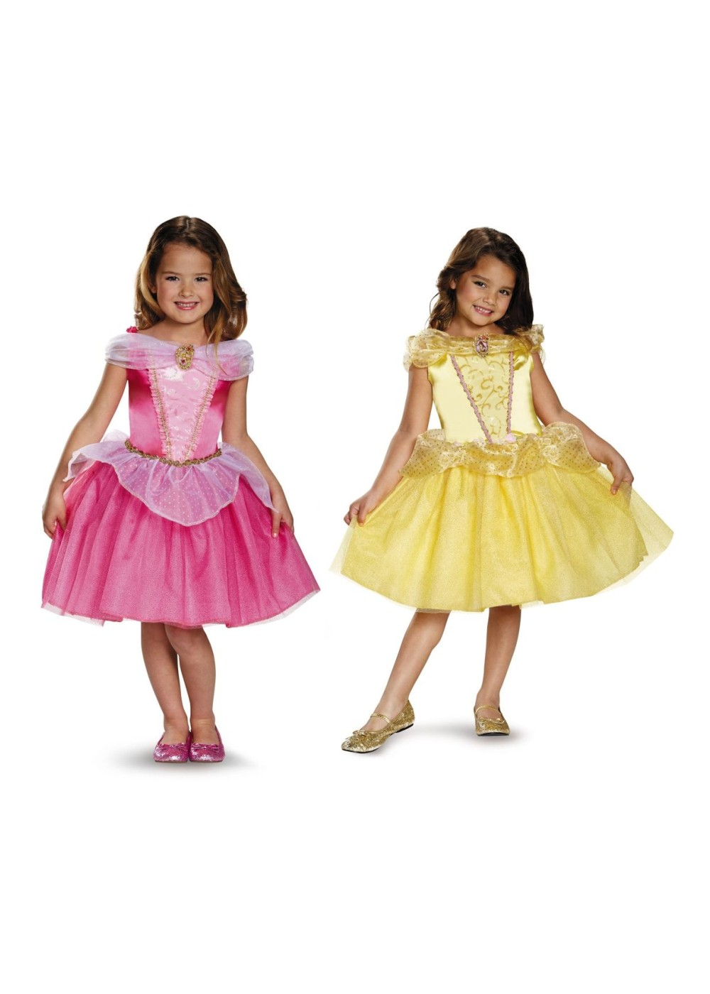 Disney Princesses Auroa Belle Girls Costume Set