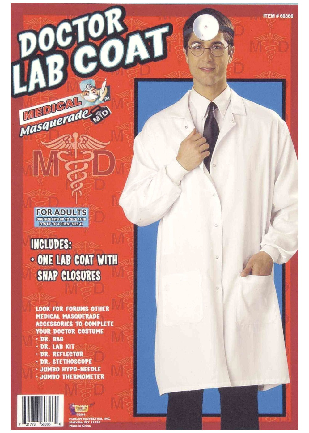Doctor Lab Coat Costume  sc 1 st  Wonder Costumes & Doctor Lab Coat Costume - Professional Costumes