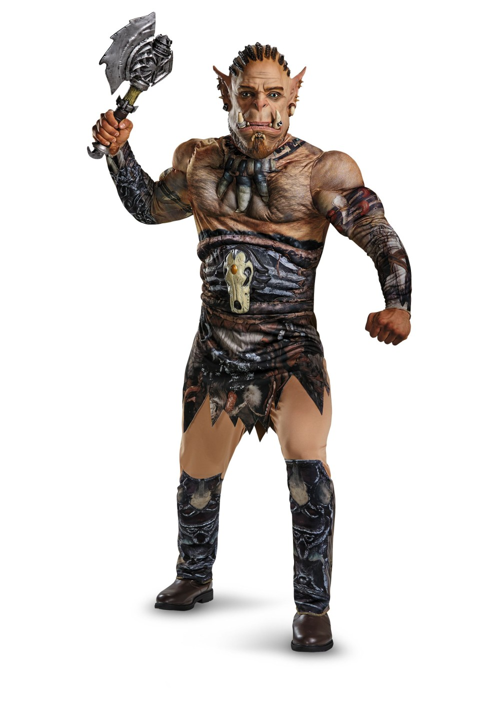 World Of Warcraft Durotan Muscle Teen/ Costume Deluxe