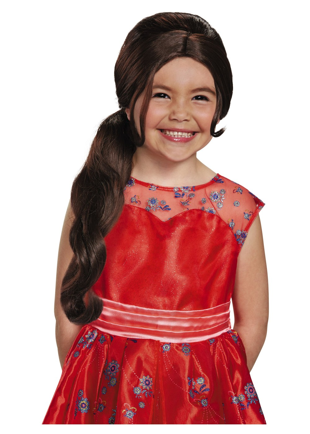 Elena Avalor Disney Princess Wig Accessory on food of the 1950s