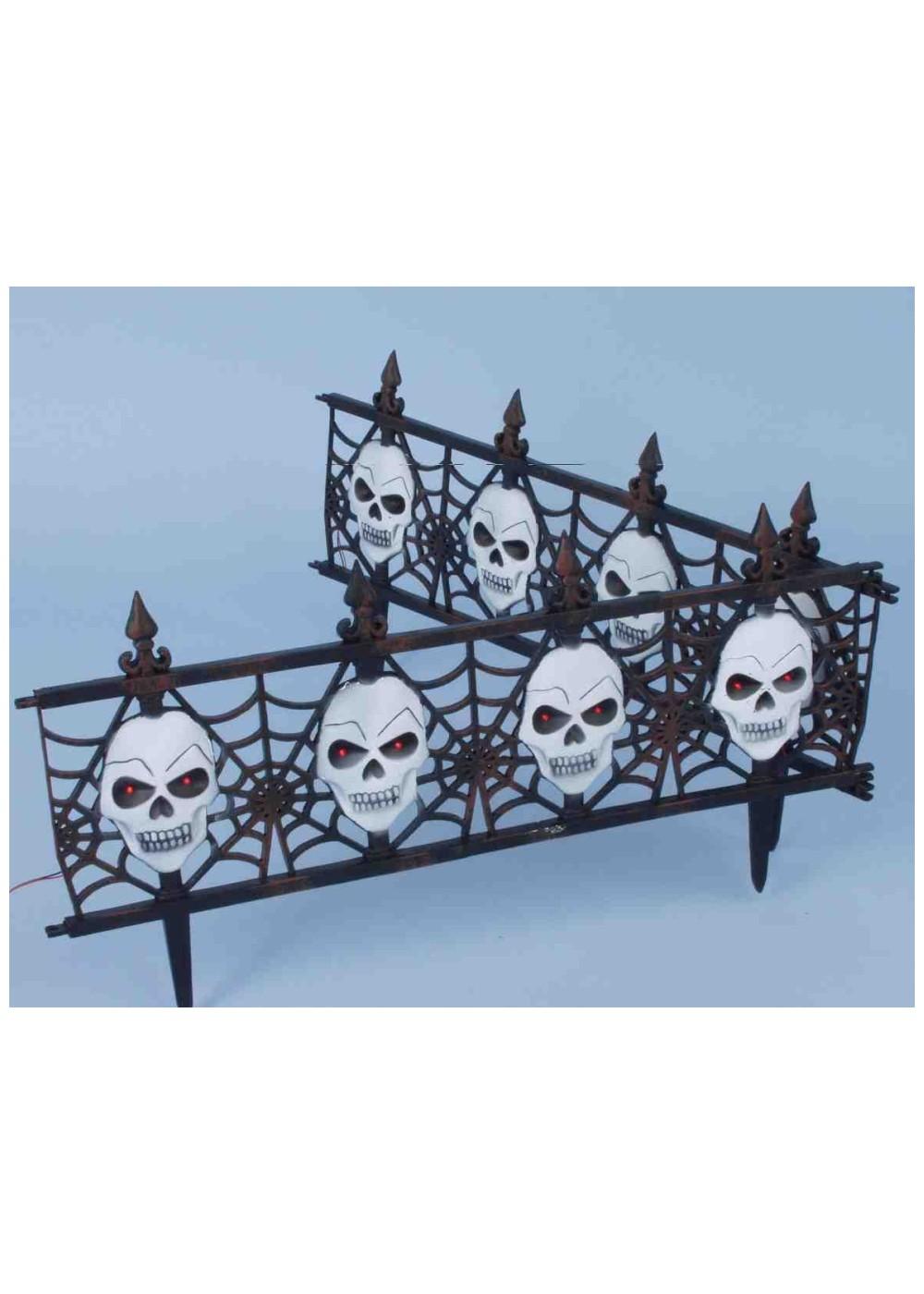 Gothic Skull Fence